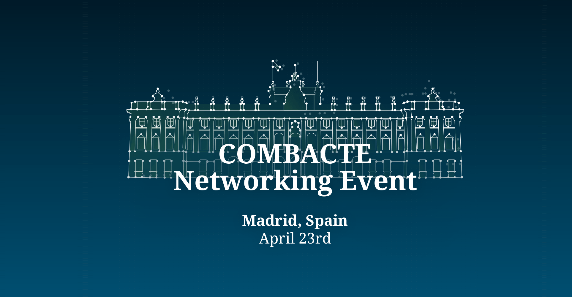 COMBACTE Networking Event, ECCMID 2018