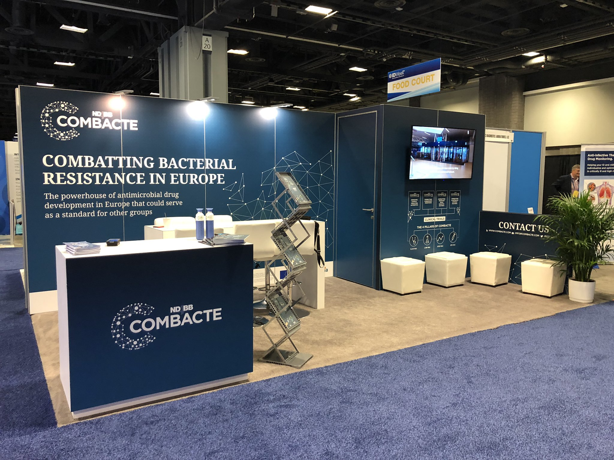 COMBACTE Welcomes Close to 1,600 Visitors During IDWeek